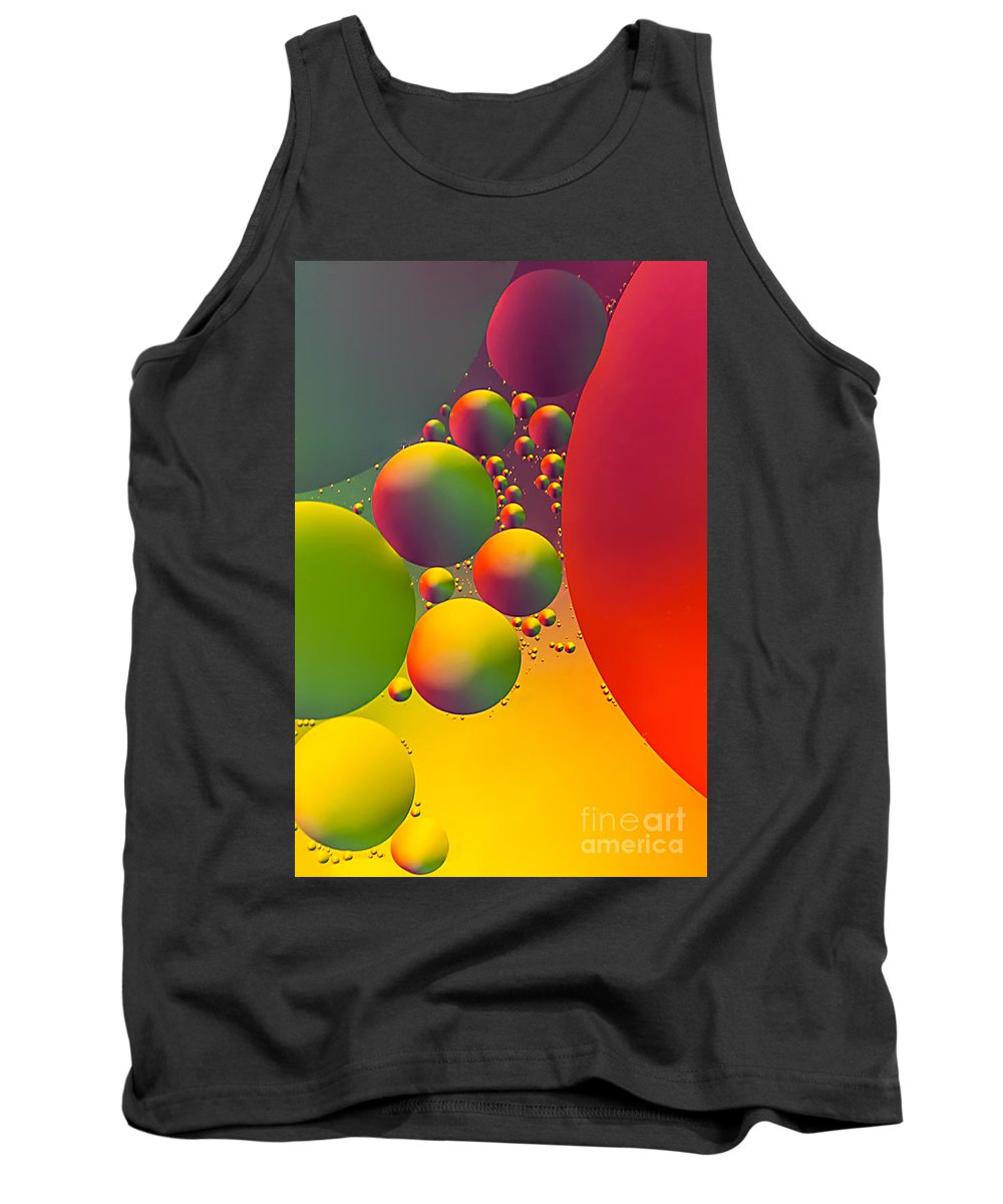 Bubble Tank Top featuring the photograph Other Worlds by Anthony Sacco