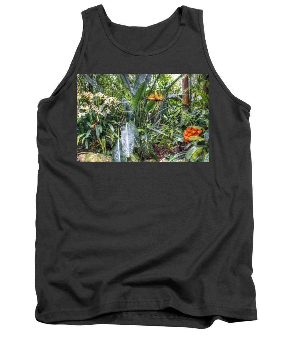 Otts Tank Top featuring the photograph Otts Waterfall Room  Schwenksville Pennsylvania Usa by Mother Nature