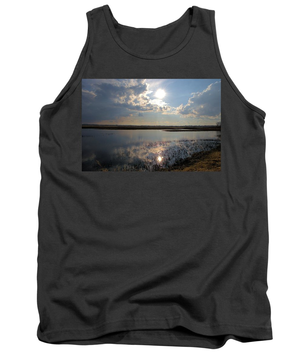 Star Tank Top featuring the photograph Our Star by Bonfire Photography