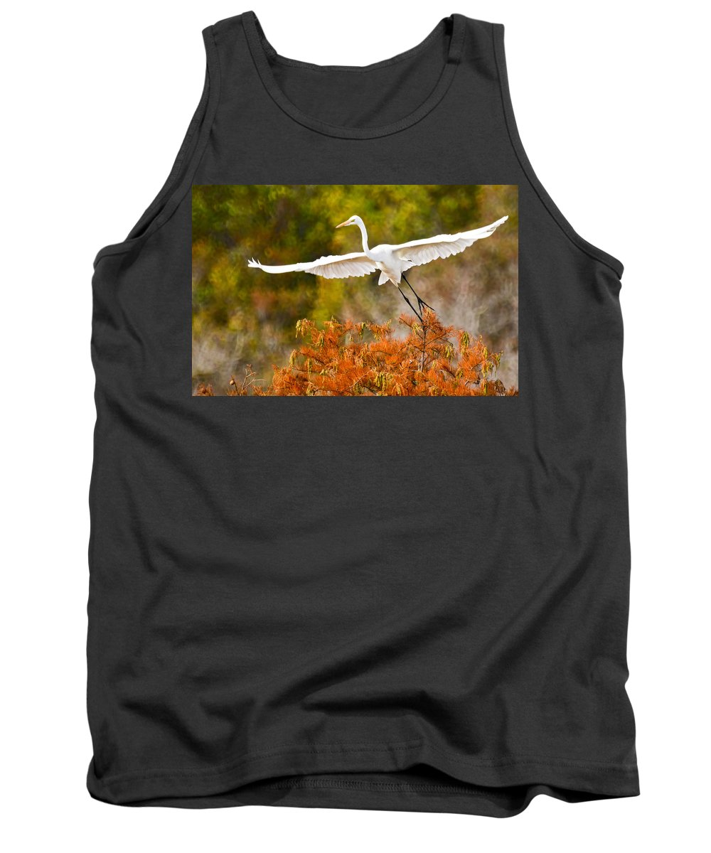 Bird Tank Top featuring the photograph Out Of The Box by James Ekstrom