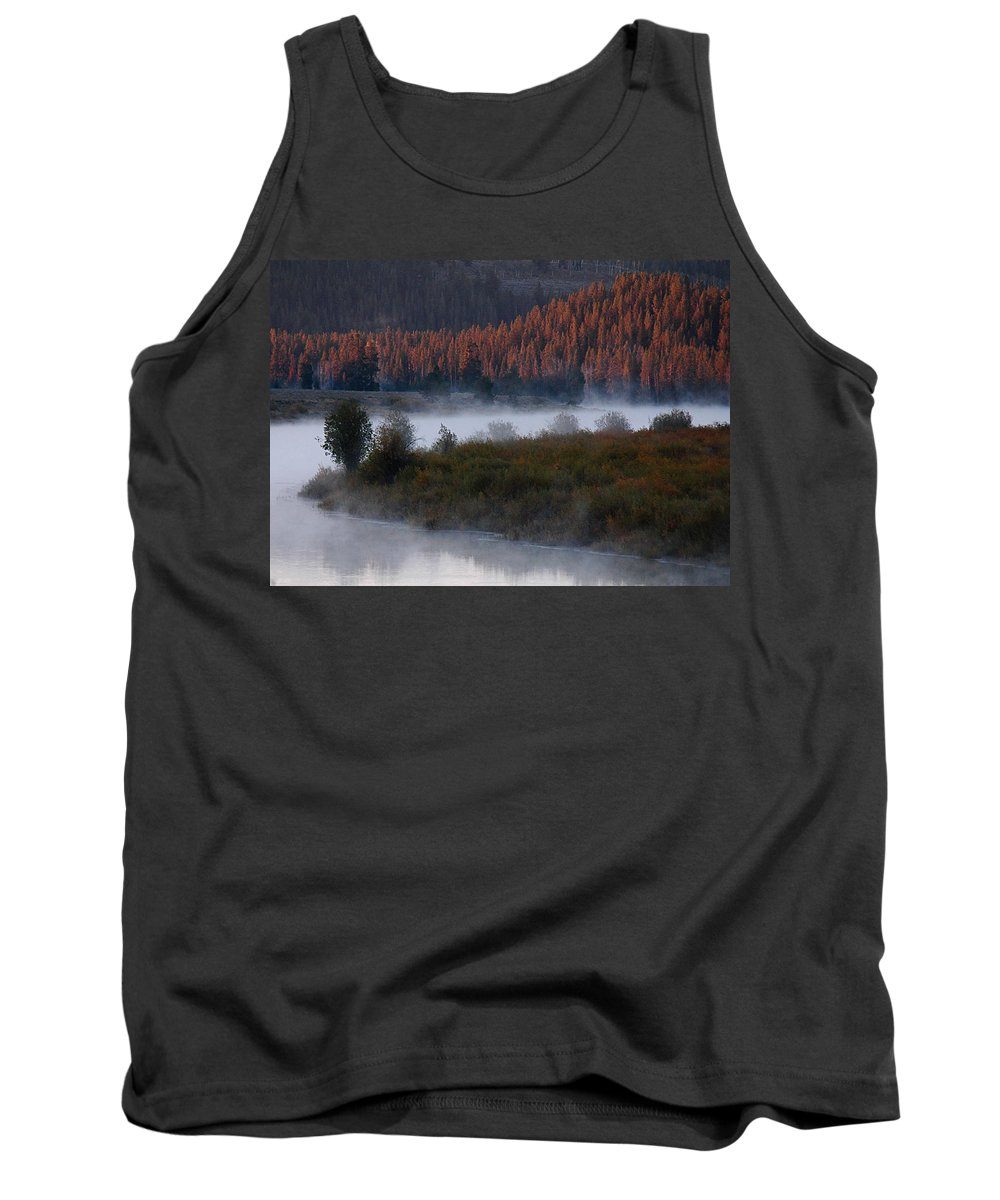 Tank Top featuring the photograph Oxbow Bend by Michael Kirk