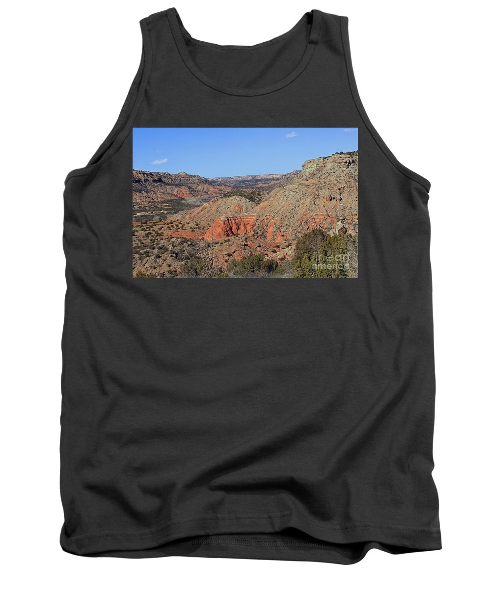 Palo Duro Canyon Tank Top featuring the photograph Palo Duro Canyon 021013.282 by Ashley M Conger