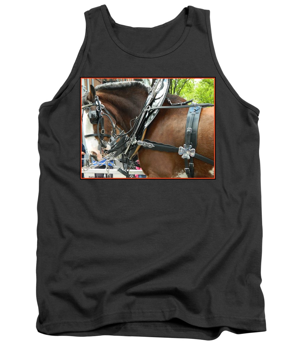 Circus Tank Top featuring the photograph Parade Day by Kathy Barney