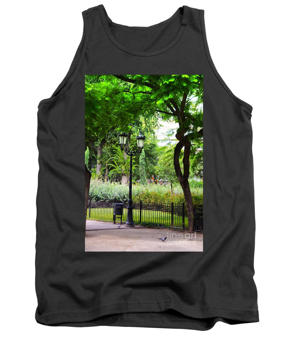 Park Tank Top featuring the photograph Park And Gardens by Phill Petrovic