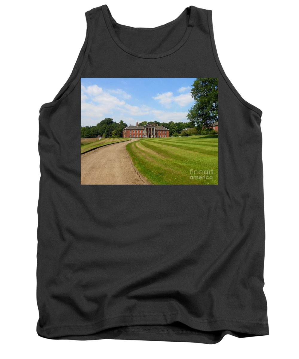 Path Tank Top featuring the photograph Pathway To Adlington Hall by Joan-Violet Stretch