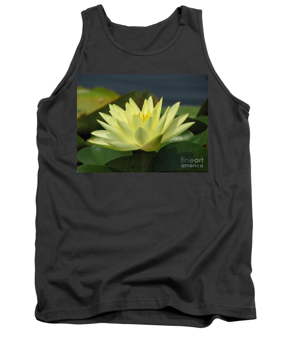 Lillies Tank Top featuring the photograph Peace by Amanda Barcon