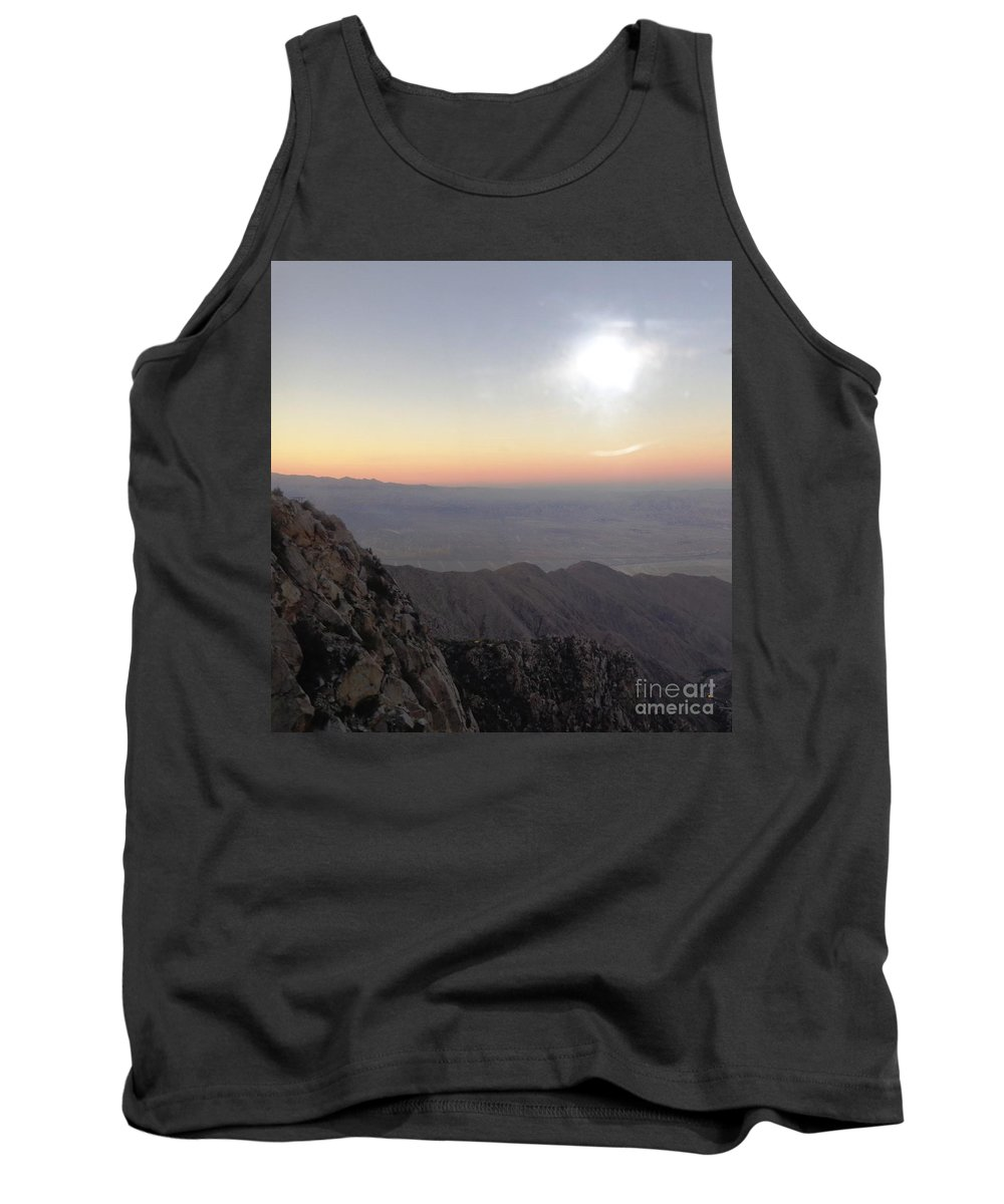 Landscape Tank Top featuring the photograph Peace Of Mind by Lisa Richards