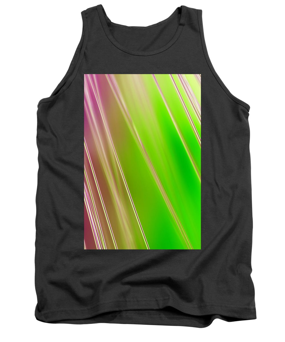 Abstract Tank Top featuring the photograph Peace Train by Dazzle Zazz