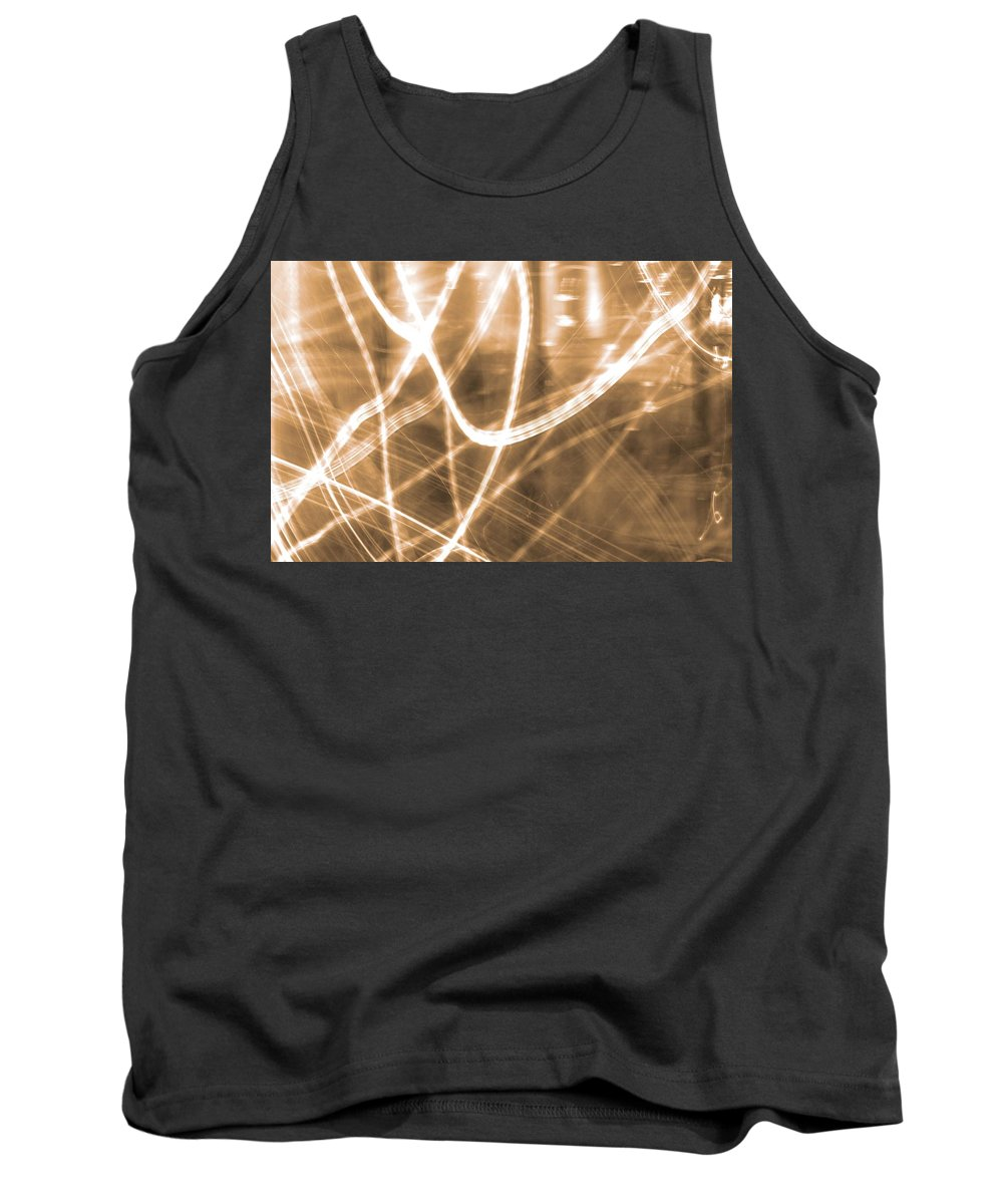 Photon Flow Tank Top featuring the photograph Photon Flow by Dan Sproul