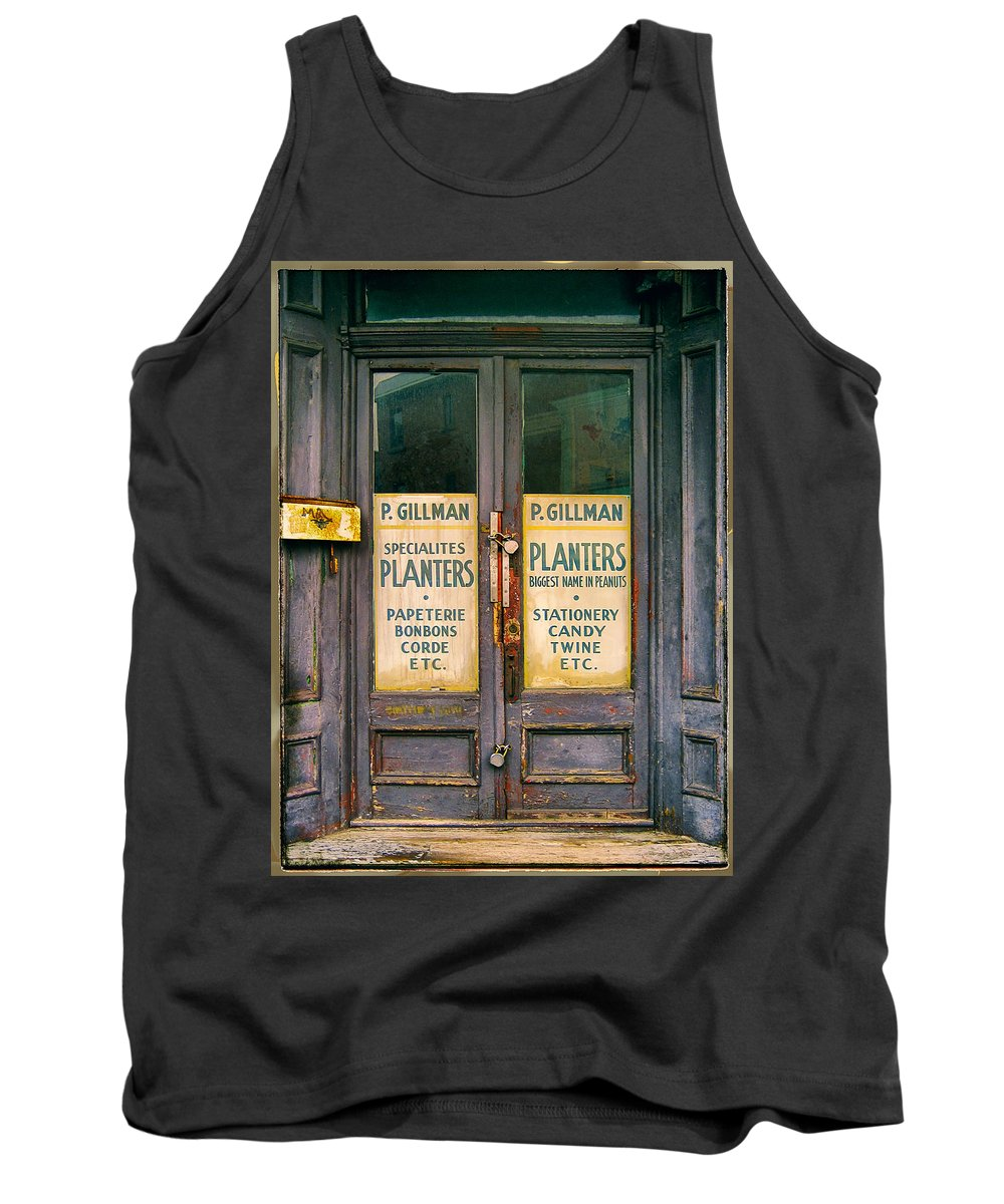 Planters Tank Top featuring the photograph Planters by Dominic Piperata