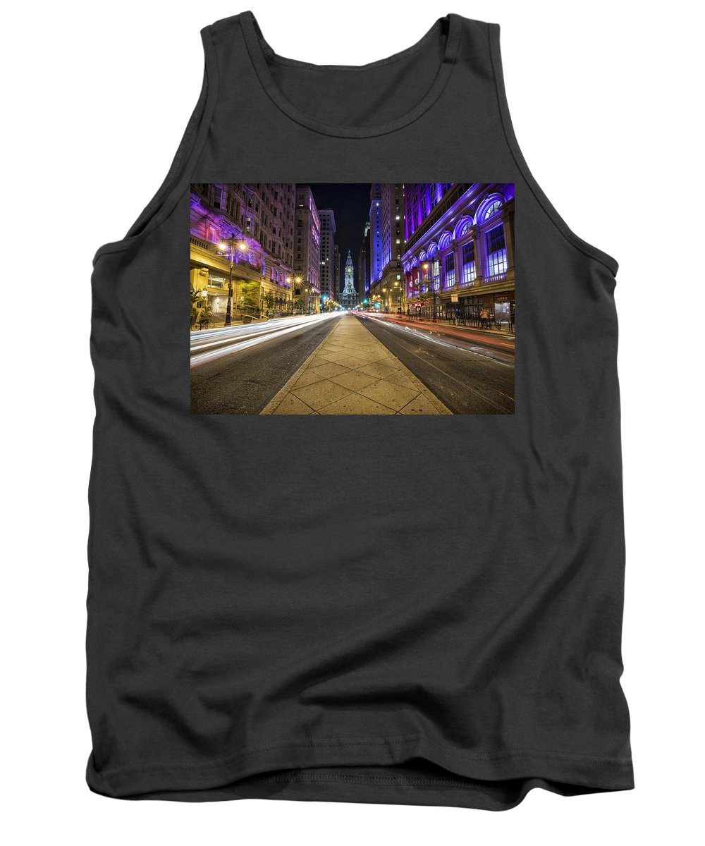 Philadelphia Tank Top featuring the photograph Playing In Traffic by Rob Dietrich