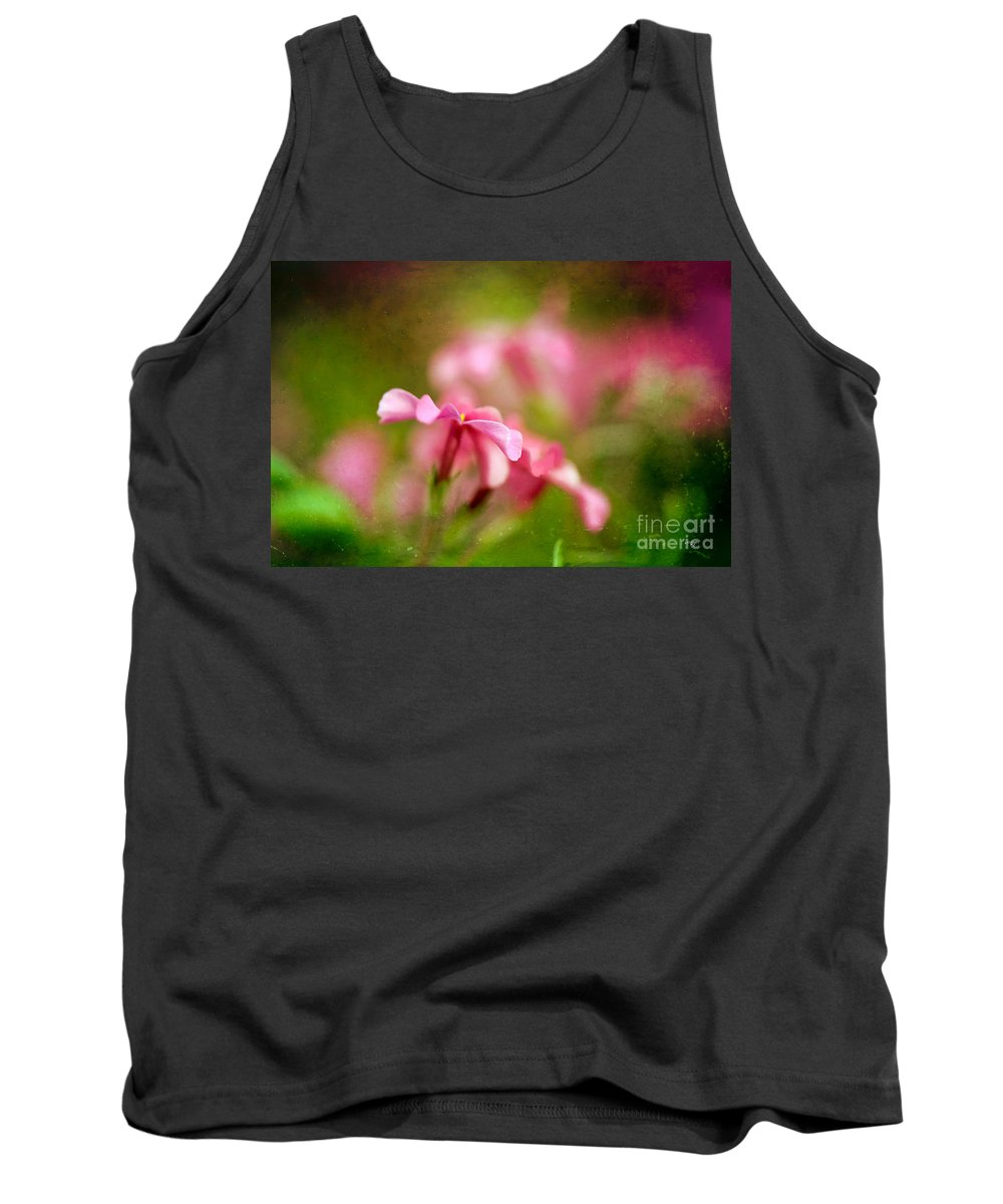 Flox Tank Top featuring the photograph Popsicle Pink by Lois Bryan