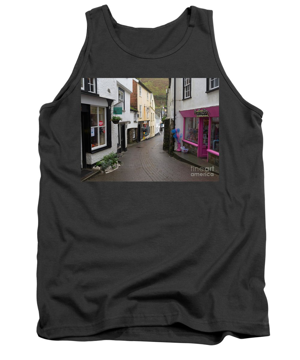 Port Isaac Tank Top featuring the photograph Port Isaac Cornwall by Louise Heusinkveld
