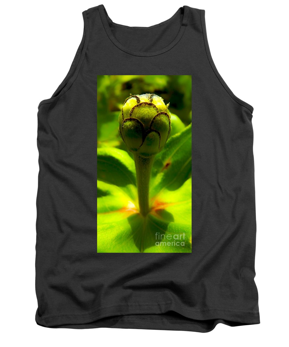 Macro Tank Top featuring the photograph Potential by James Aiken