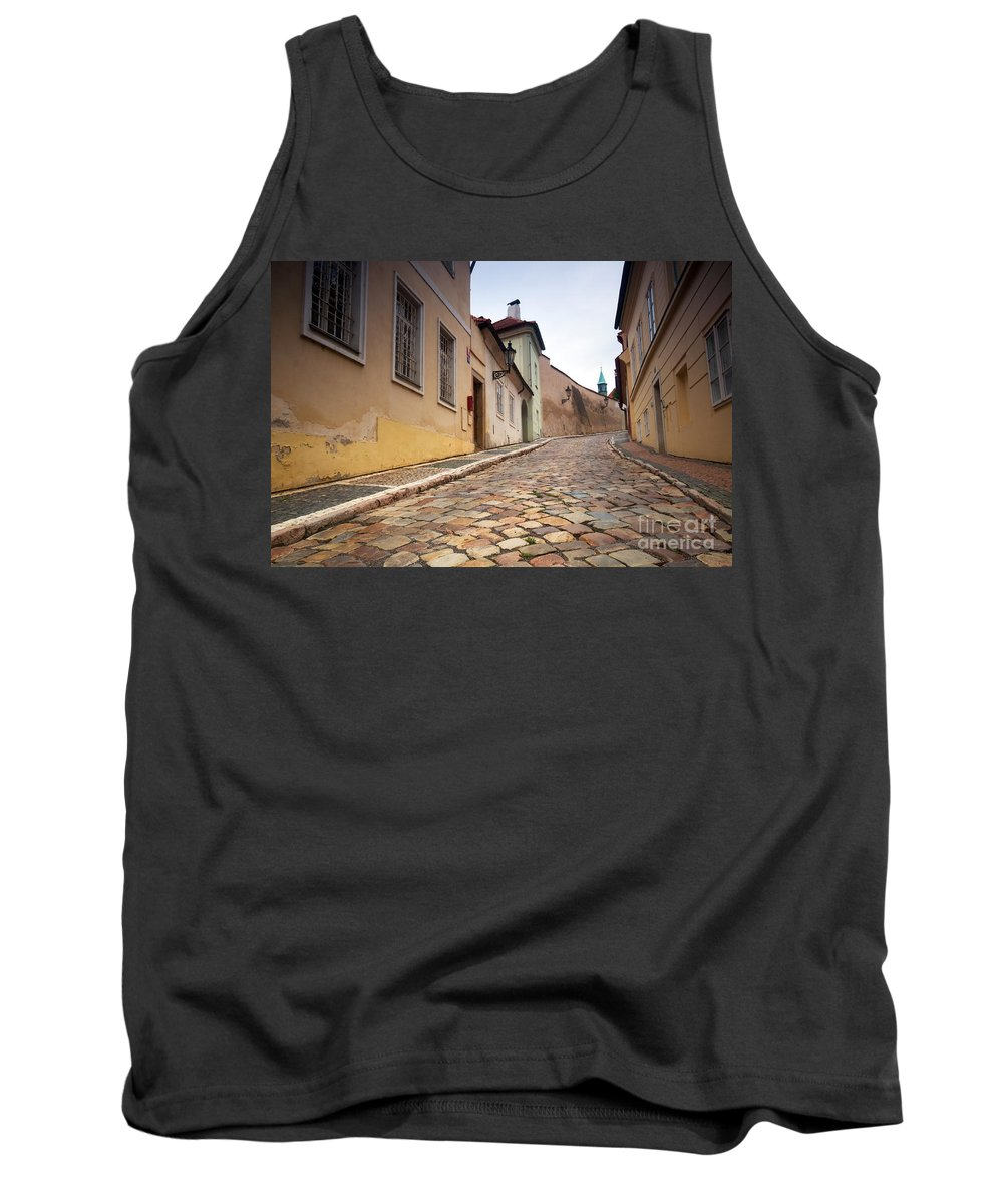 Architecture Tank Top featuring the photograph Prague by Michal Bednarek