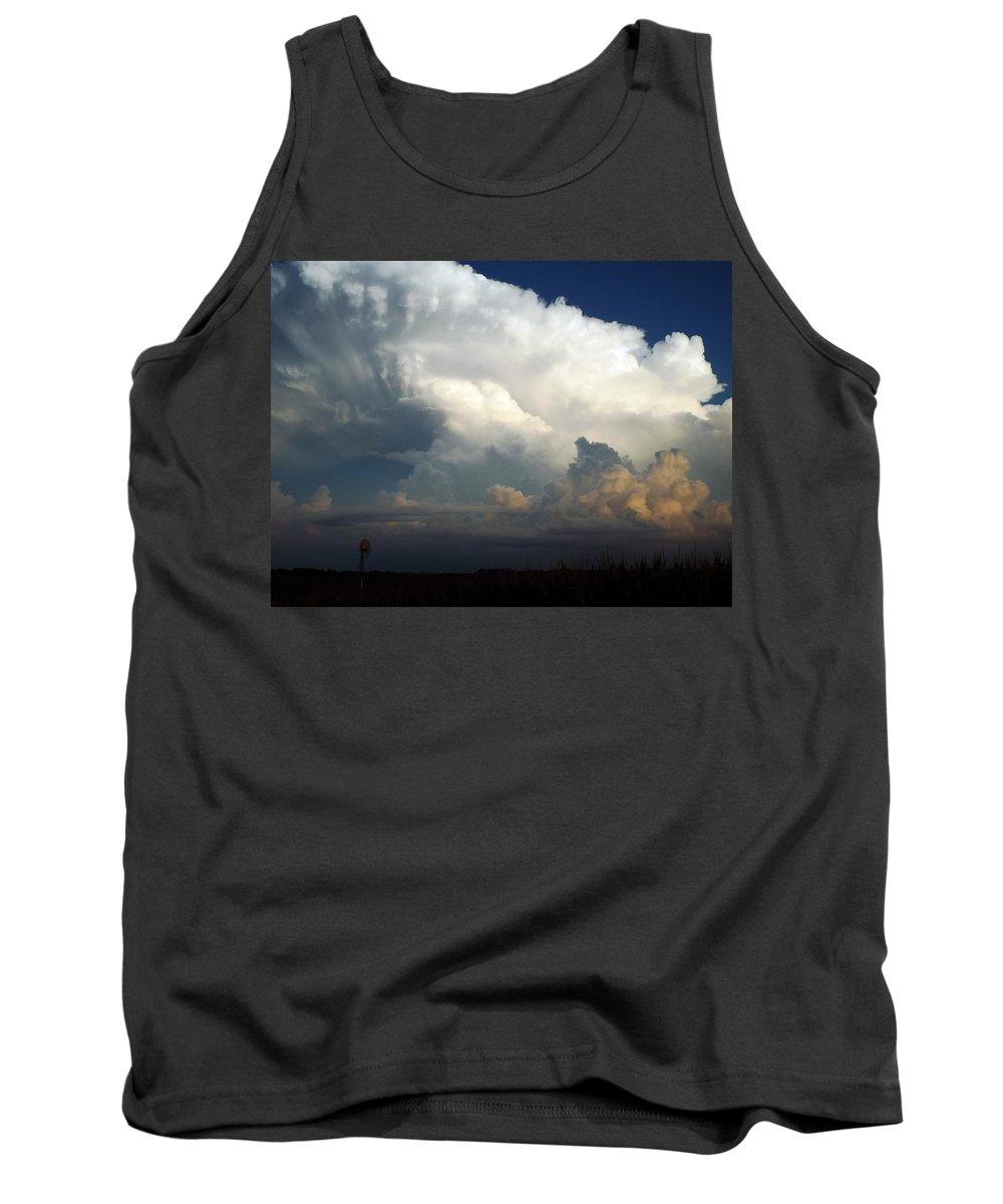 Prairie Tank Top featuring the photograph Prairie Glory by Caryl J Bohn