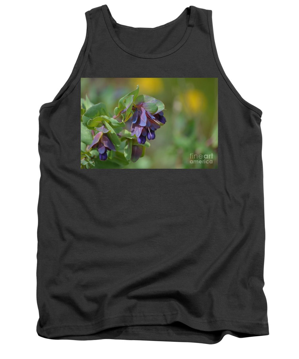 Flowers Tank Top featuring the photograph Pretty Purple Flowers In Ireland by DejaVu Designs