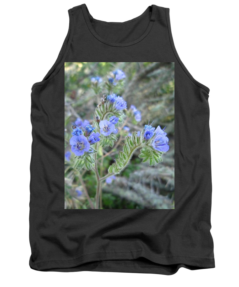 Flower Tank Top featuring the photograph Pretty To Look At by Nelson Strong