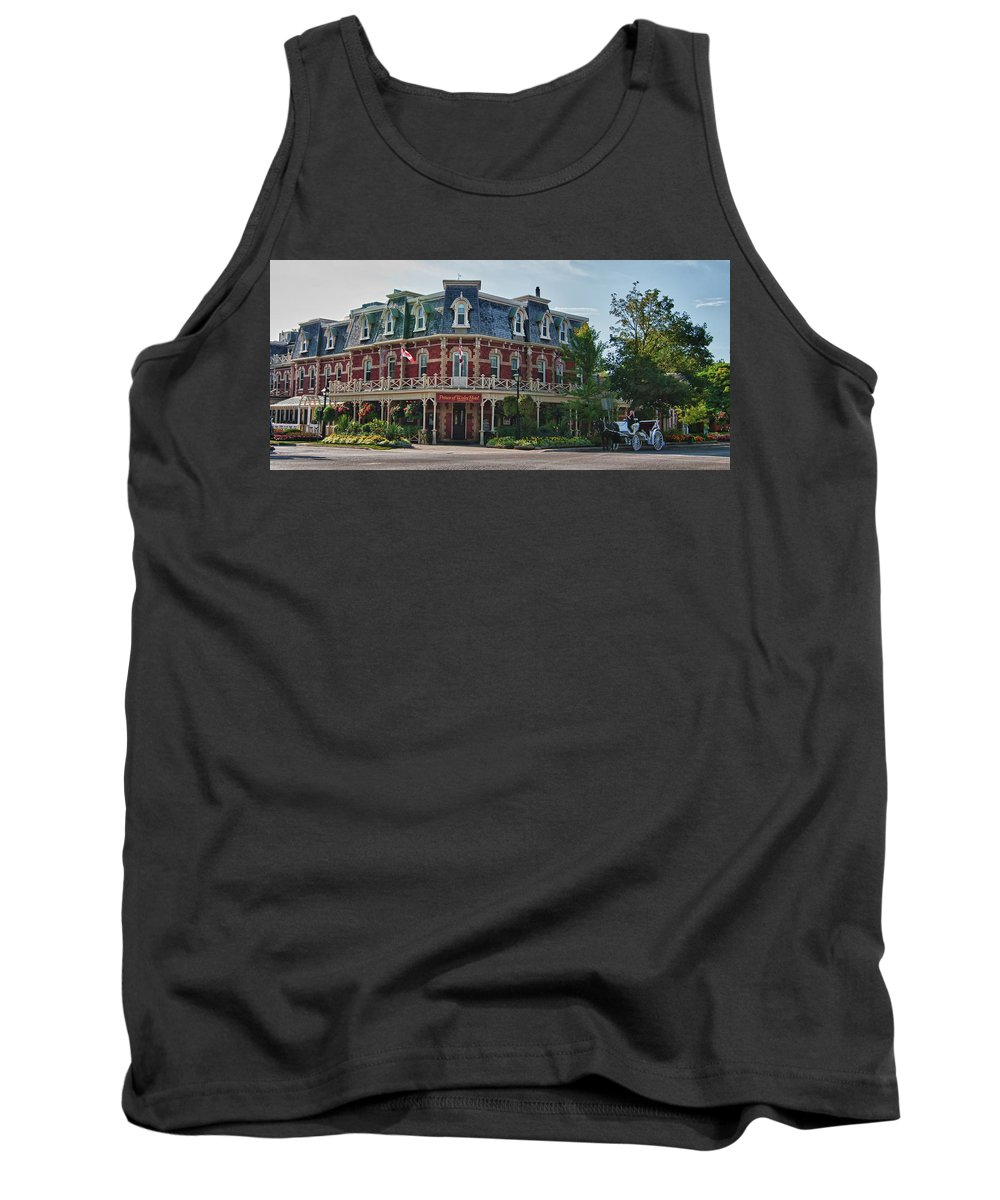 Architecture Tank Top featuring the photograph Prince Of Wales Hotel 9000 by Guy Whiteley