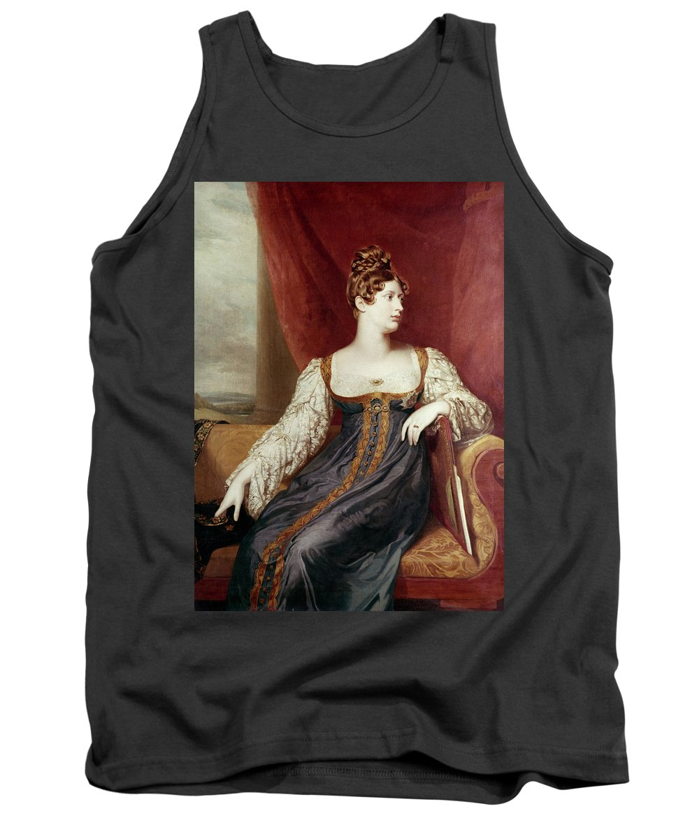 19th Century Tank Top featuring the painting Princess Charlotte by Granger