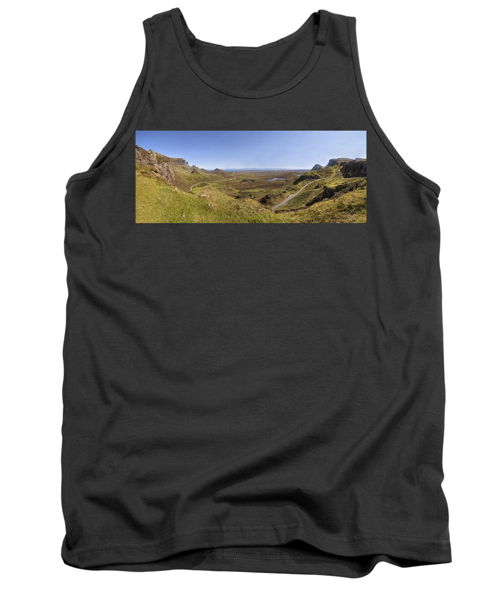 Quiraing Tank Top featuring the photograph Quiraing by Eunice Gibb