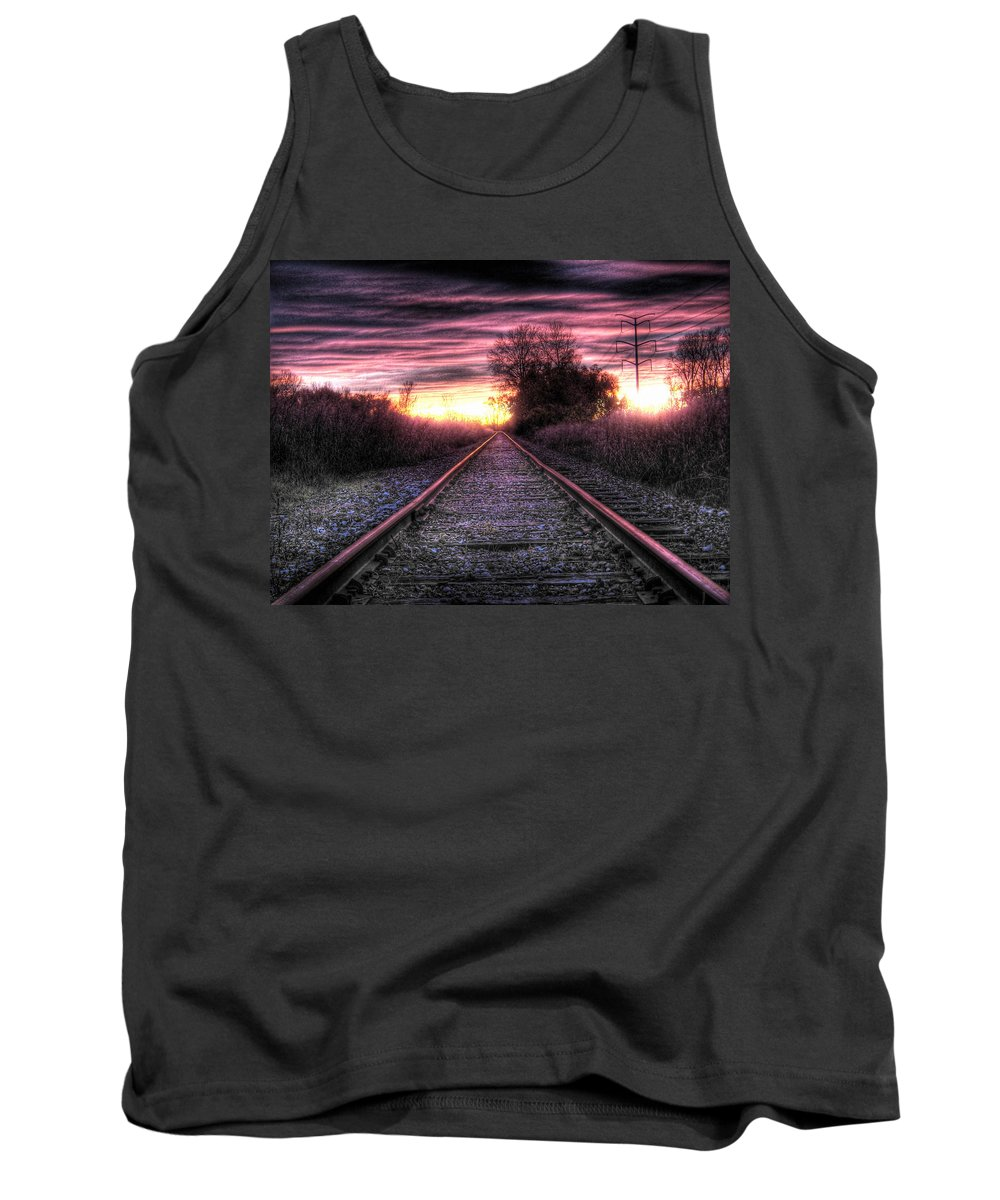 Photography Tank Top featuring the photograph Radiant Orchid by Jane Linders
