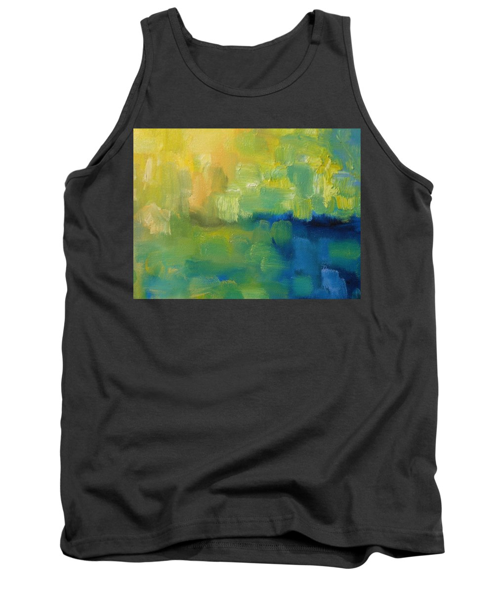 Water Tank Top featuring the painting Rain 2 by Lord Frederick Lyle Morris