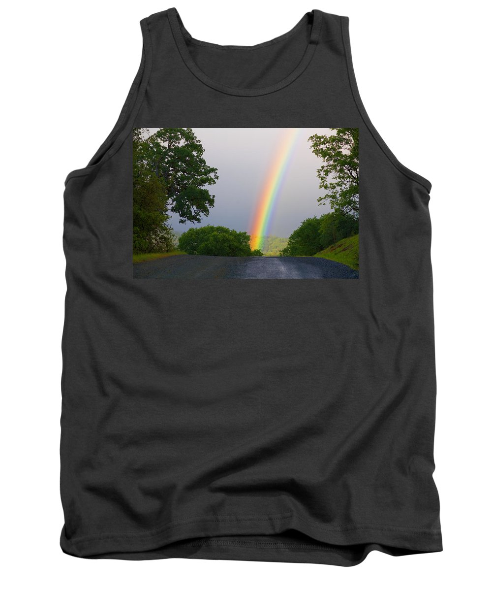 Rainbow Tank Top featuring the photograph Rainbow by Mark Greenberg