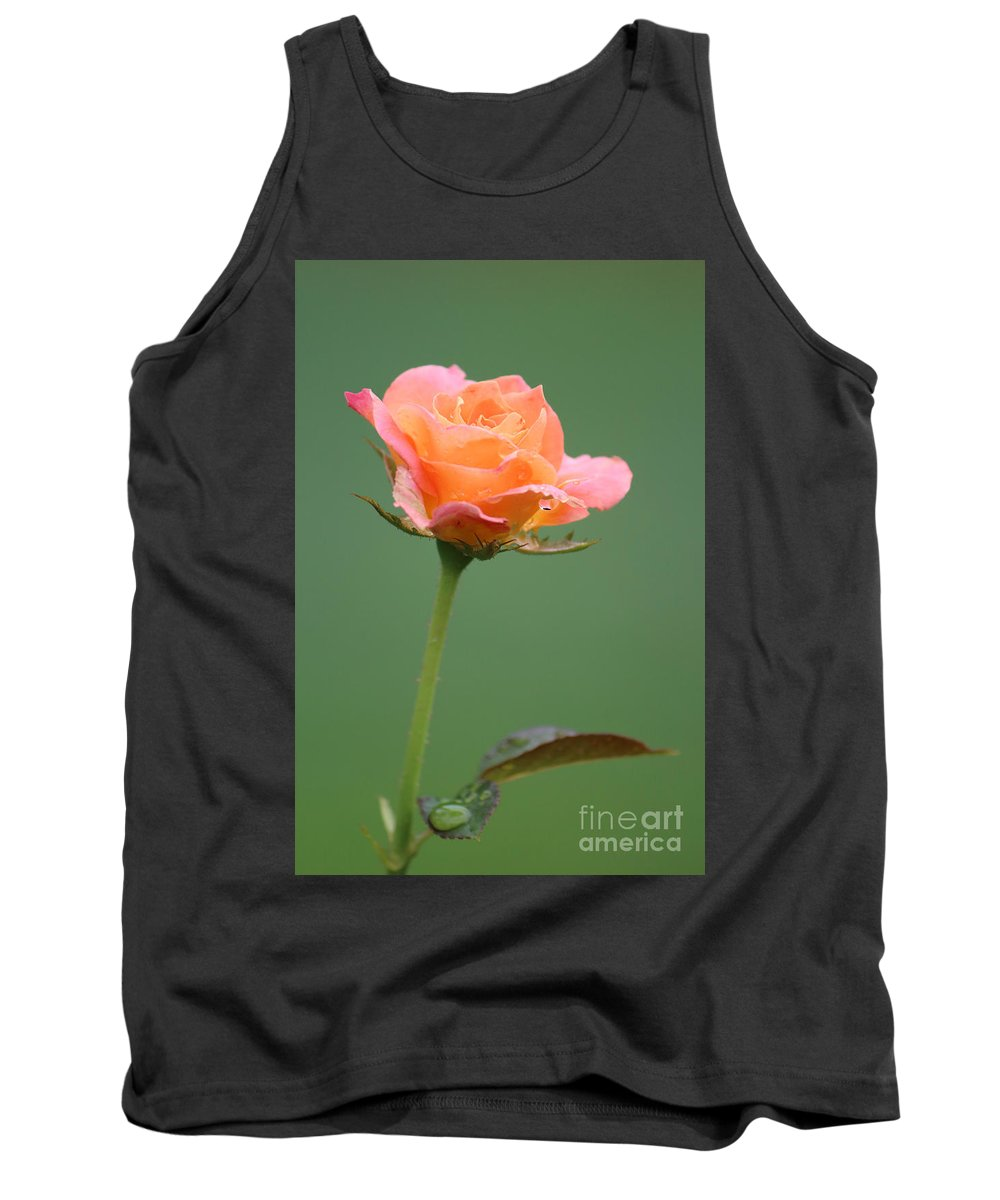 Photography Tank Top featuring the photograph Raindrops by Jackie Farnsworth
