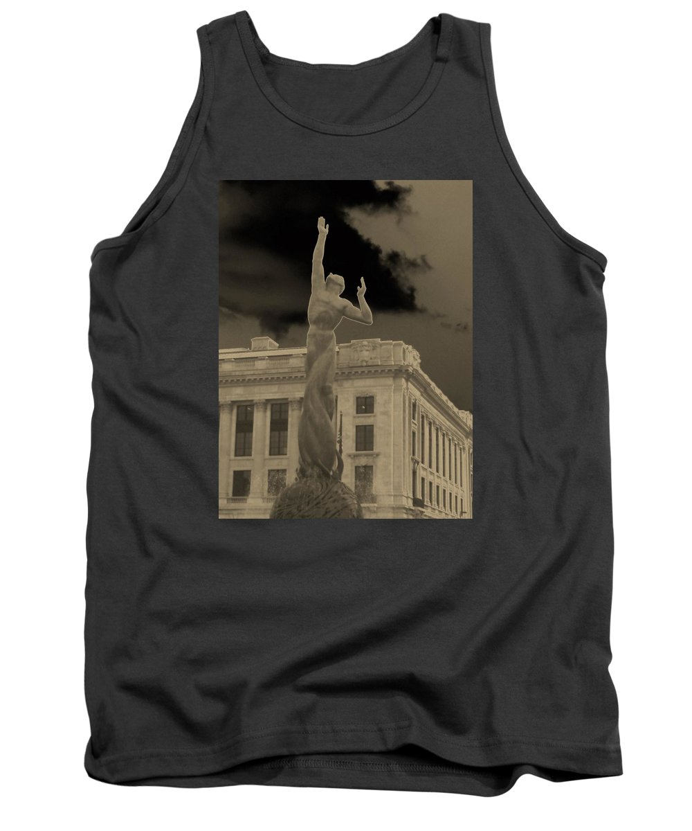 Cleveland Tank Top featuring the photograph Reaching For The Stars by Wendy Gertz