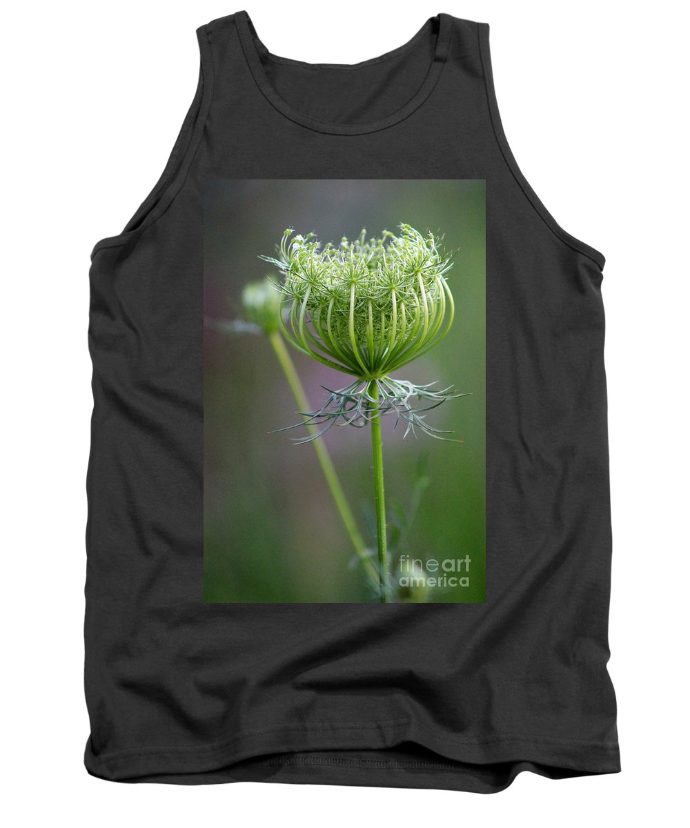 Flower Tank Top featuring the photograph Ready To Burst by Karen Adams