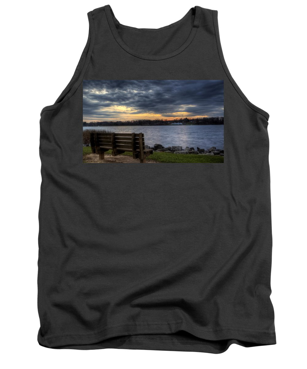 Landscape Tank Top featuring the photograph Reflection Time by David Dufresne