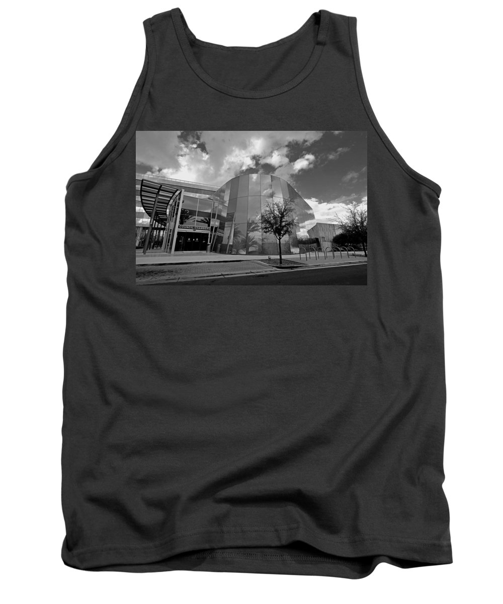 Storm Tank Top featuring the photograph Reflections Of A Storm by Lorraine Harrington