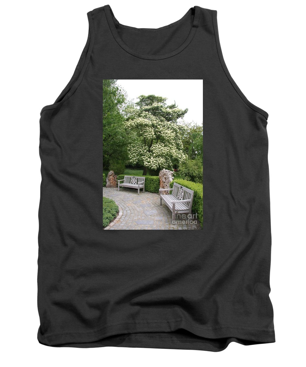 Park Tank Top featuring the photograph Relax In The Park by Christiane Schulze Art And Photography