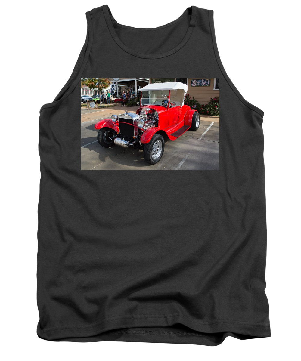 Ford Tank Top featuring the photograph Roadster Redone For Fun by JG Thompson