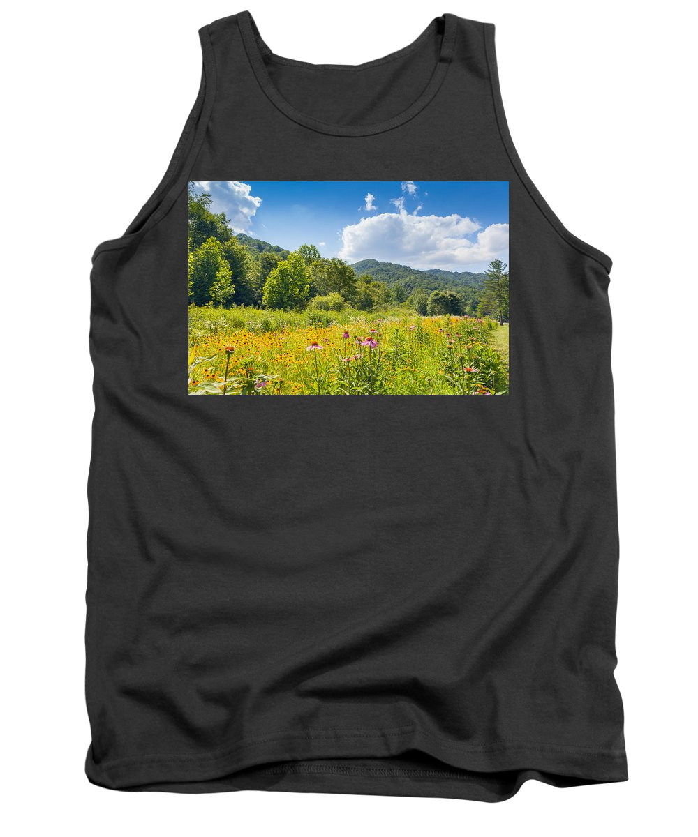 Landscape Tank Top featuring the photograph Roan Mountain State Park by Melinda Fawver