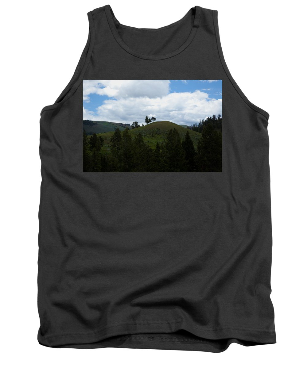 Hills Tank Top featuring the photograph Rolling Hills by Scott Sanders