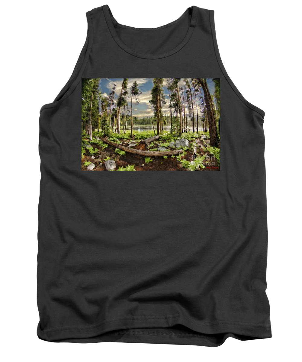 Tank Top featuring the photograph Romantic Meadow by Blake Richards