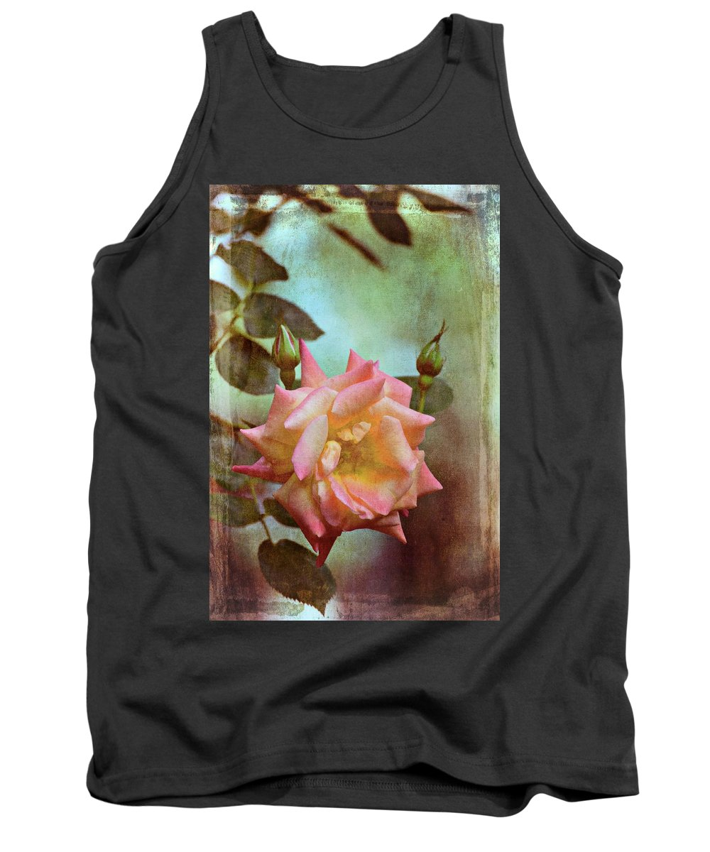 Floral Tank Top featuring the photograph Rose 263 by Pamela Cooper