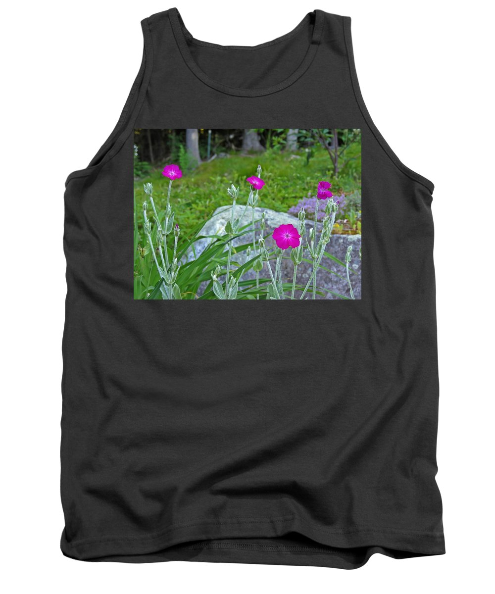 Rose Campion Tank Top featuring the photograph Rose Campion by MTBobbins Photography