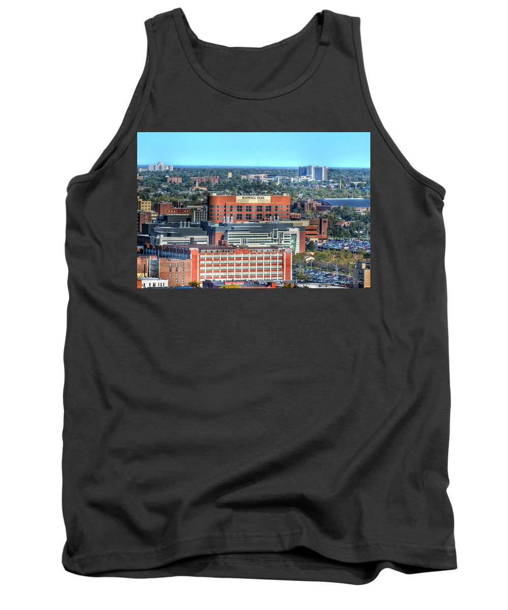 Roswell Park Tank Top featuring the photograph Roswell Park by Michael Frank Jr