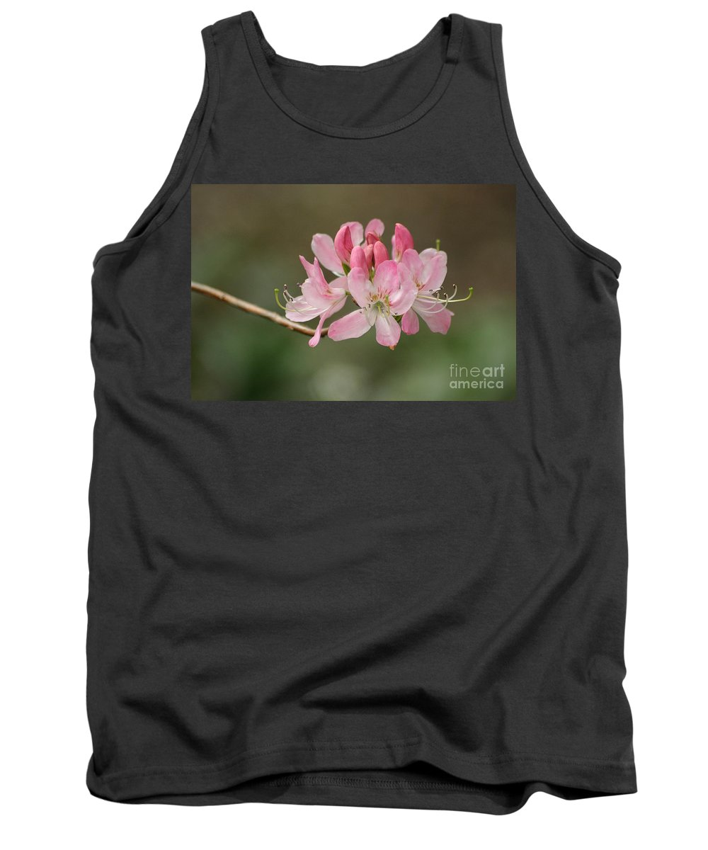Rhododendron Tank Top featuring the photograph Rosy Rhododendron by Living Color Photography Lorraine Lynch