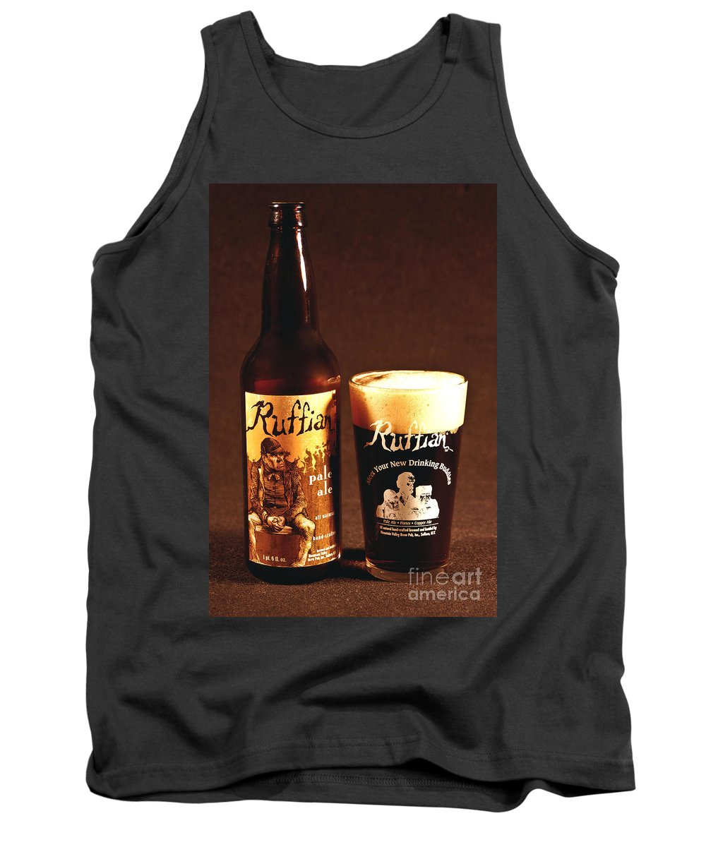 Beer Tank Top featuring the photograph Ruffian Ale by Anthony Sacco