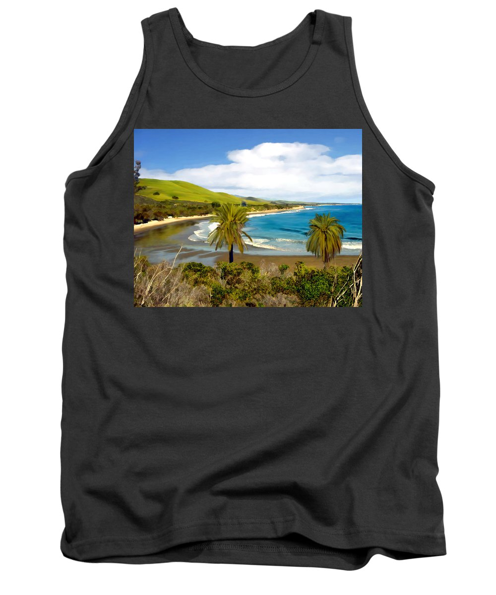 Ocean Tank Top featuring the photograph Rufugio by Kurt Van Wagner