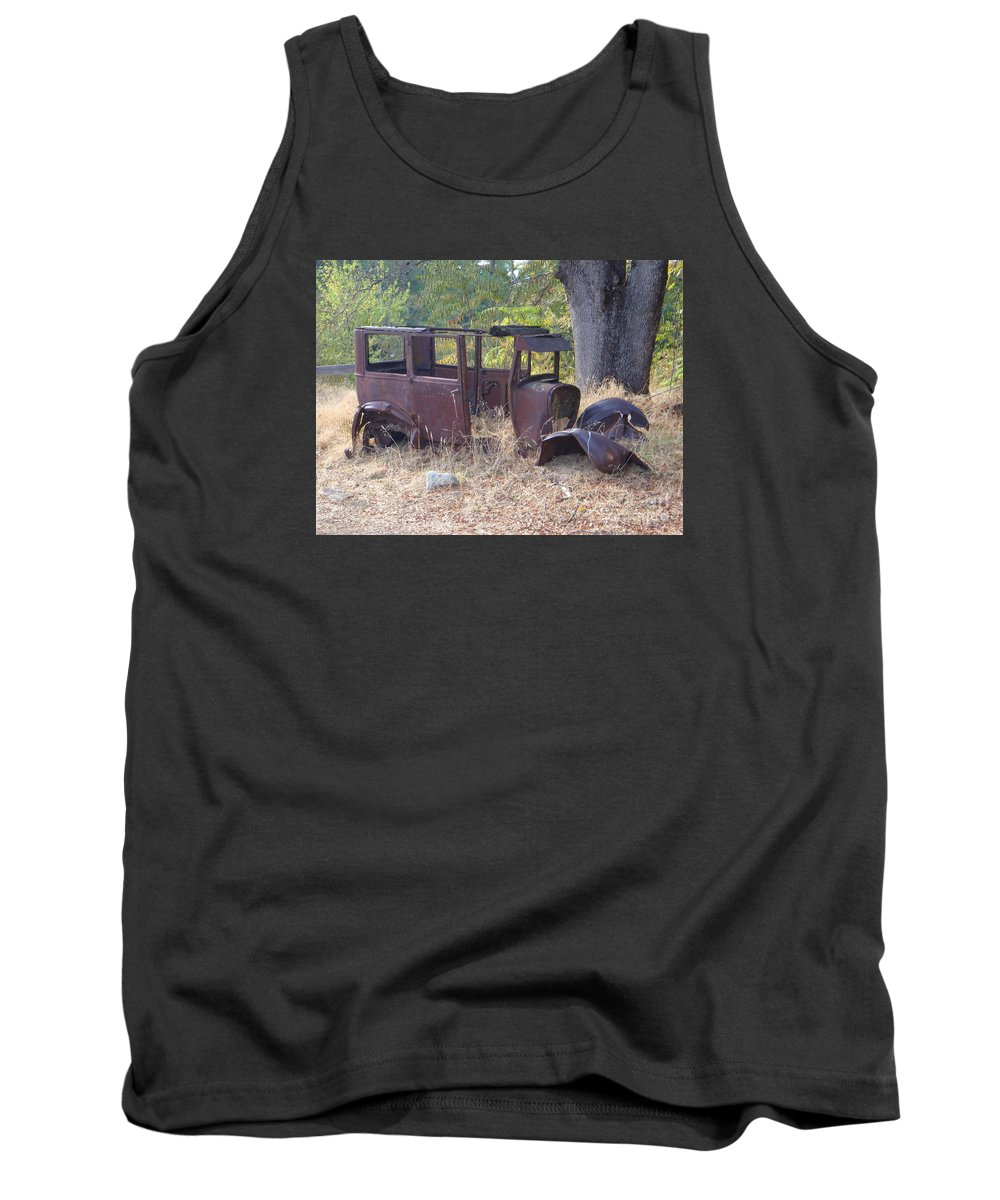 Ford Tank Top featuring the photograph Rust In Full Bloom by Mary Deal