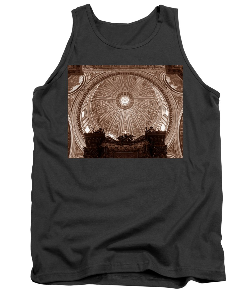 Saint Peters Tank Top featuring the photograph Saint Peter Dome by Michael Kirk