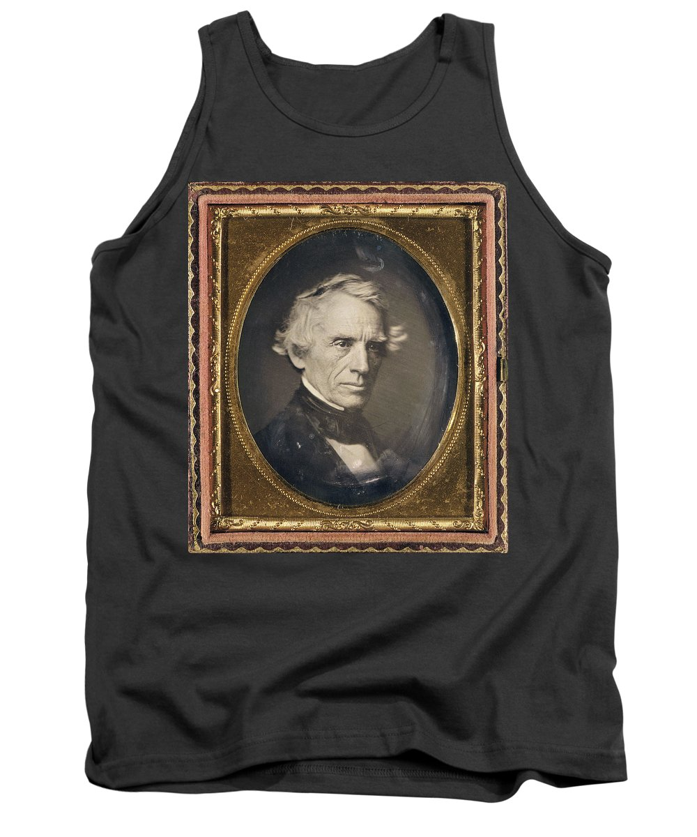 1845 Tank Top featuring the photograph Samuel Finley Breese Morse by Granger