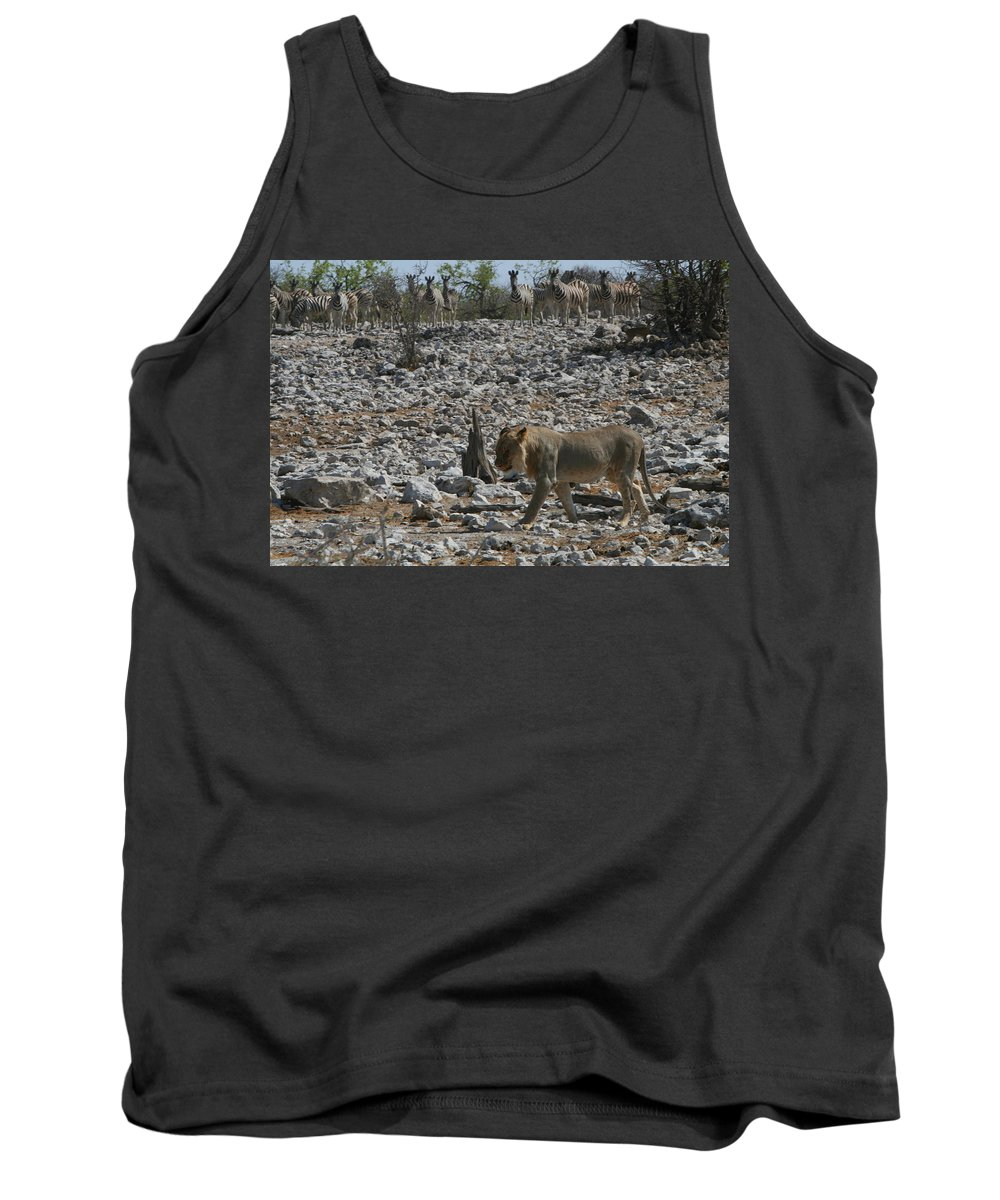 Africa Tank Top featuring the photograph Satisfied by Bruce J Robinson