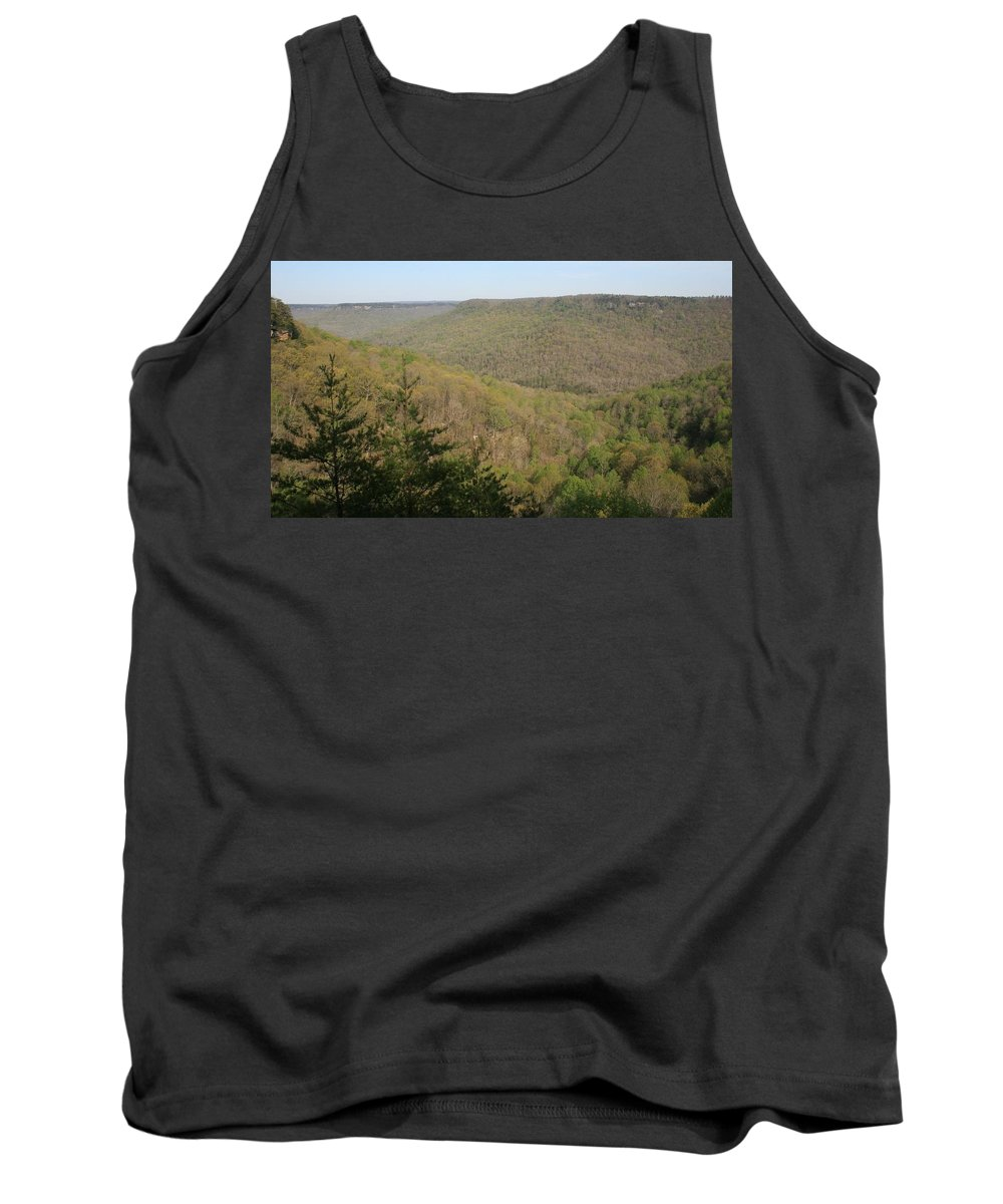 Savage Gulf State Natural Area Tank Top featuring the photograph Savage Gulf Tennessee State Park IIi by Cody Cookston