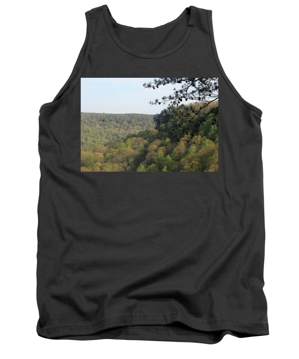 Savage Gulf State Natural Area Tank Top featuring the photograph Savage Gulf Tennessee State Park Iv by Cody Cookston